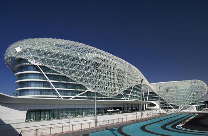 Hotel Yas Viceroy Abu Dhabi - logies & ontbijt