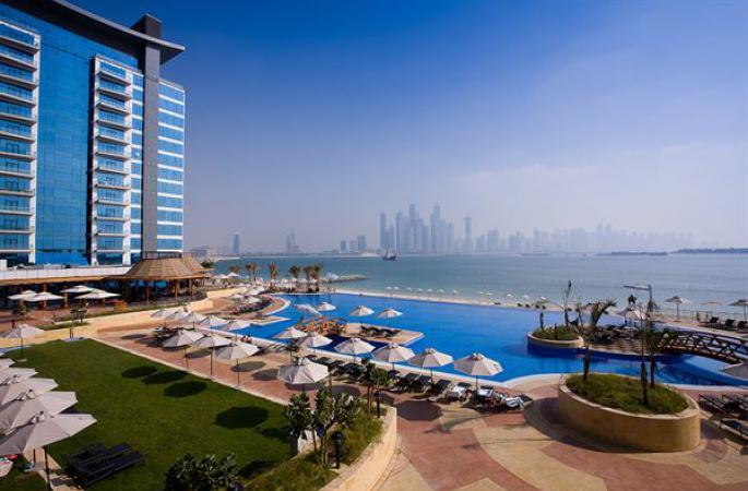 Hotel Mövenpick Ibn Battuta Gate - logies & ontbijt