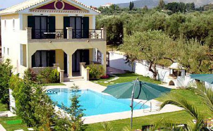 Villa's Anogia met privézwembad