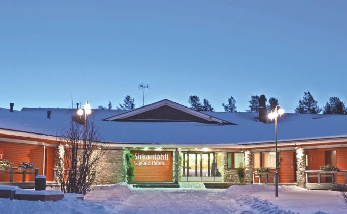Lapland Hotel Sirkantähti + 3 Excursies