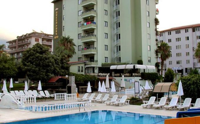 Appartementen Green Park
