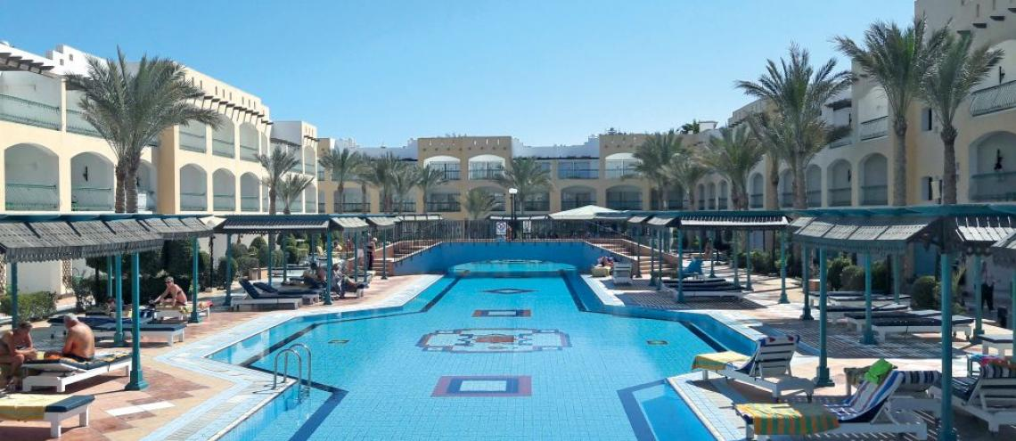 Hotel Belair Azur Resort (4*) in Hurghada
