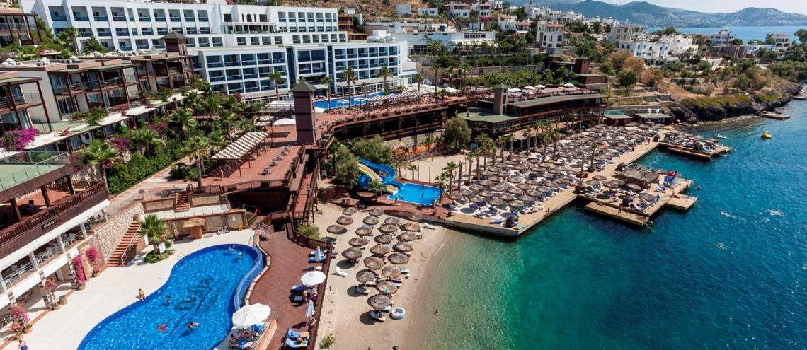 Hotel Delta Beach Resort (5*) in Turkije