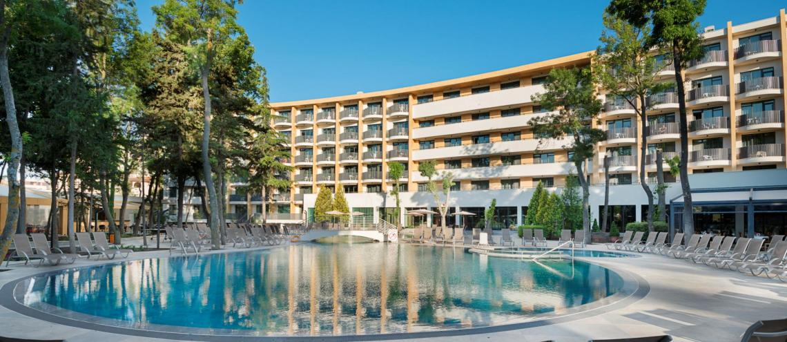 Hotel HVD Club Bor (4*) in Sunny Beach (Bulgarije)