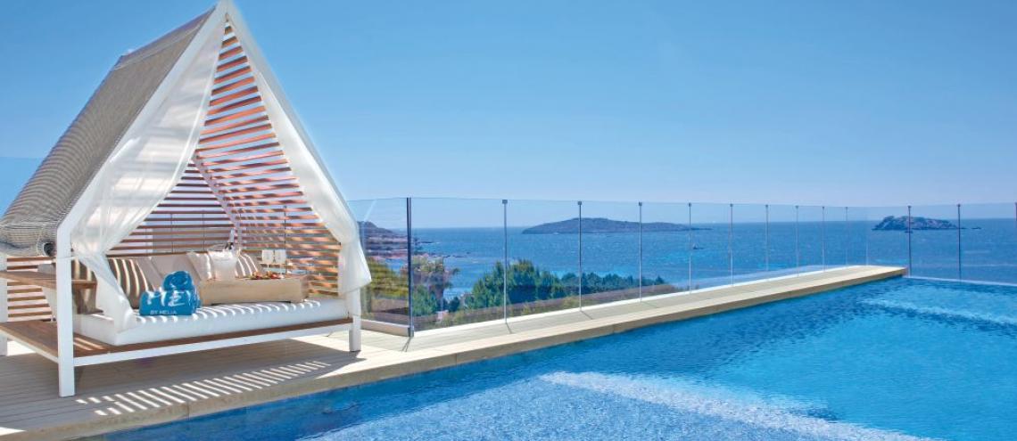 Hotel ME Ibiza (5*) op Ibiza
