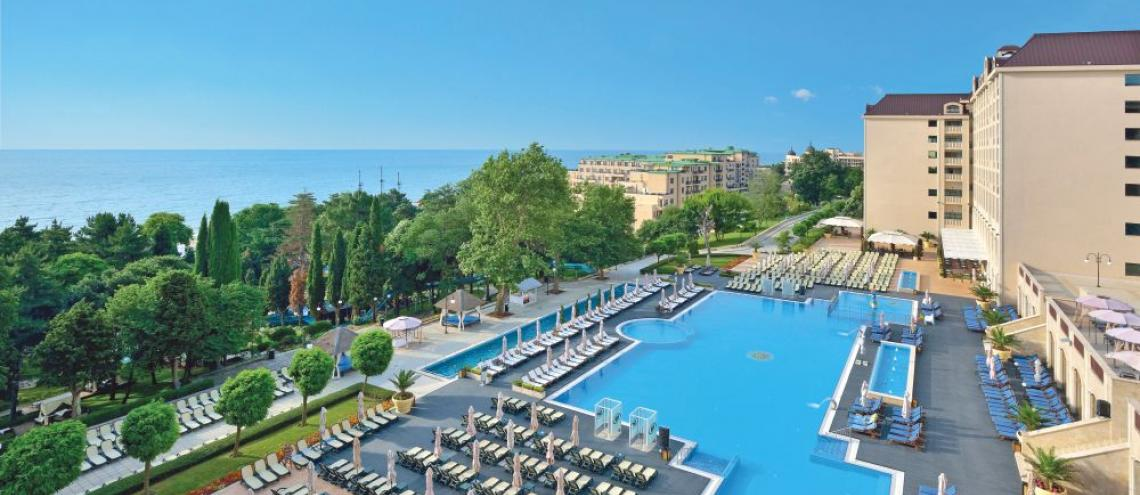 Hotel Melia Grand Hermitage (5*) aan de Zwarte Zee