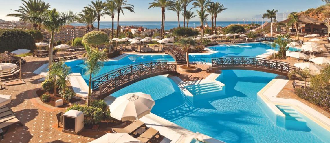 Hotel Melia Jardines del Teide (5*) op Tenerife
