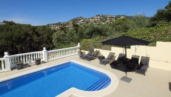 Villas Lloret met privézwembad - inclusief huurauto