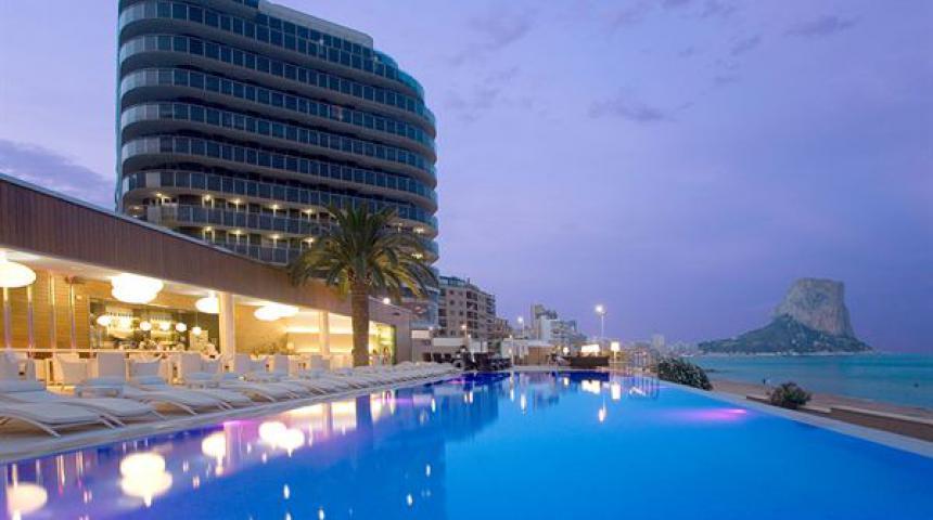 Hotel Sol y Mar - winterzon