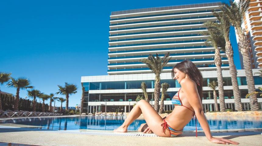 Hotel Diamante Beach (4*) in Calpe
